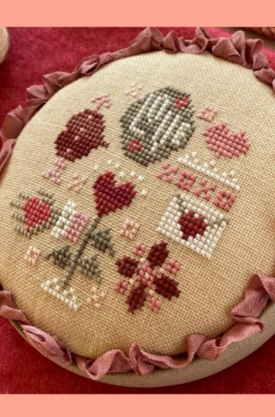 Love Whirligig Cross Stitch Pattern by Heart In Hand Needleart
