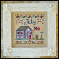 Country Cottage Needleworks Cottage of the Month – JULY