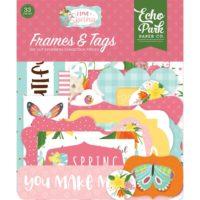 I Love Spring Cardstock Ephemera by Echo Park