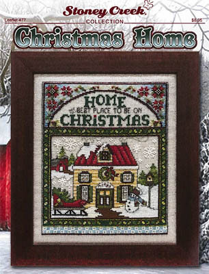 Christmas Home Cross Stitch Pattern by Stoney Creek Designs