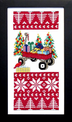 Christmas Joy Cross Stitch Pattern by Bobbie G Designs