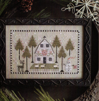 Country Winter Cross Stitch Pattern by Plum Street Samplers