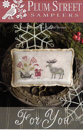 For You Cross Stitch Pattern by Plum Street Samplers