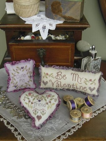 Valentine Trifles Cross Stitch Pattern by Shepherd's Bush