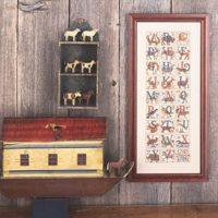 Animal Alphabet Cross Stitch Pattern by The Prairie Schooler