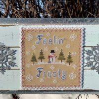 Feeling Frosty Cross Stitch Pattern by Pickle Barrel Designs