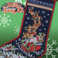 Dash Away All Cross Stitch Pattern by Stoney Creek Collection