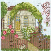 Grandma's Garden Cross Stitch Pattern by Imaginating
