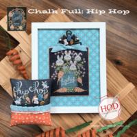 Hip Hop Chalk Full Cross Stitch Pattern by Hands On Design