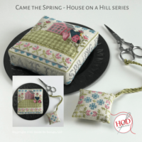 Came the Spring ~ House on a Hill Cross Stitch Pattern by Hands On Design
