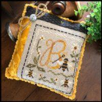 Stitching Bee Cross Stitch Pattern by Little House Needleworks