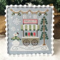 Snow Village 6 – Popsicle Stand by Country Cottage Needleworks