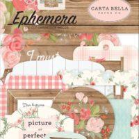 Carta Bella FARMHOUSE EPHEMERA DIE-CUT Pieces