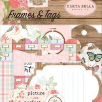 Carta Bella FARMHOUSE MARKET Frames and Tags Ephemera Pieces