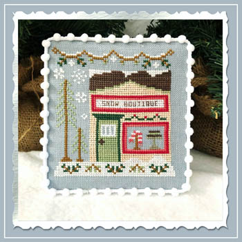 Snow Village 7 - Snow Boutique by Country Cottage Needlework