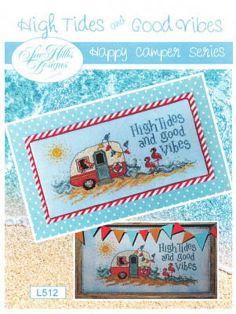High Tides Cross Stitch Pattern by Sue Hillis