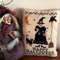 ELIXIR Cross Stitch Pattern by Twin Peak Primitives – HAPPY HALLOWEEN