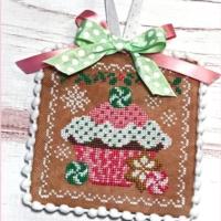 HOLIDAY CUPCAKE Cross Stitch Pattern by Sugar Stitches Design