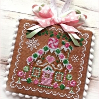 HOLIDAY GINGERBREAD Cross Stitch Pattern by Sugar Stitches Design
