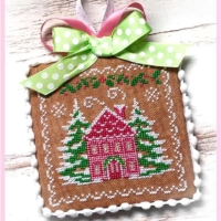 HOLIDAY HOME Cross Stitch Pattern by Sugar Stitches Design