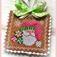 HOLIDAY KRINGLE Cross Stitch Pattern by Sugar Stitches Design