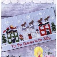 Little Stitch Girl FA-LA-LA Lane Cross Stitch Pattern – Christmas Cross Stitch