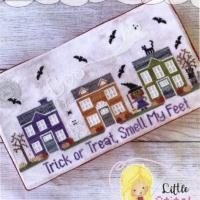 Little Stitch Girl PUMPKIN PARK Spooky Hollow 5 Cross Stitch Pattern