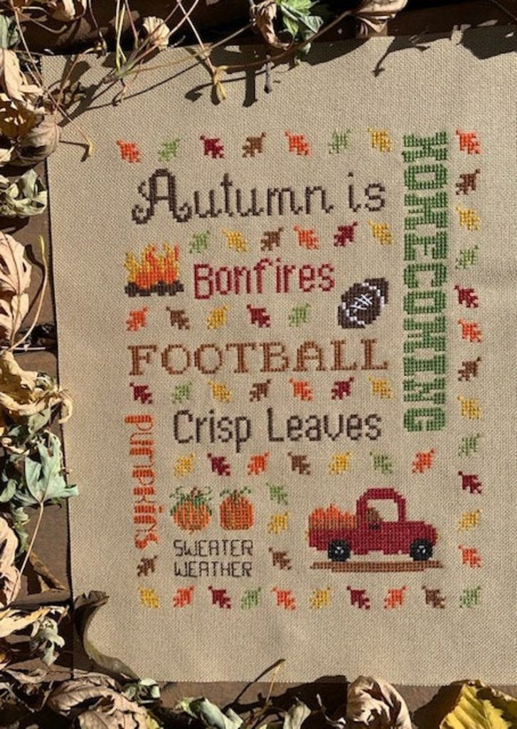 Pickle Barrel HARVEST TIME Cross Stitch Pattern - AUTUMN Cross Stitch Pattern