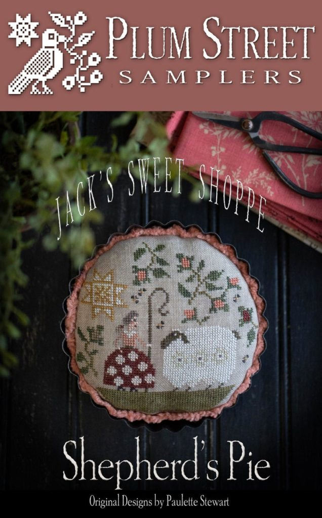 Plum Street Samplers Shepherd's Pie Cross Stitch Pattern