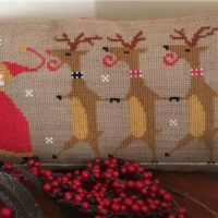 RIGHT AFTER DELIVERY Cross Stitch Pattern by Twin Peak Primitives