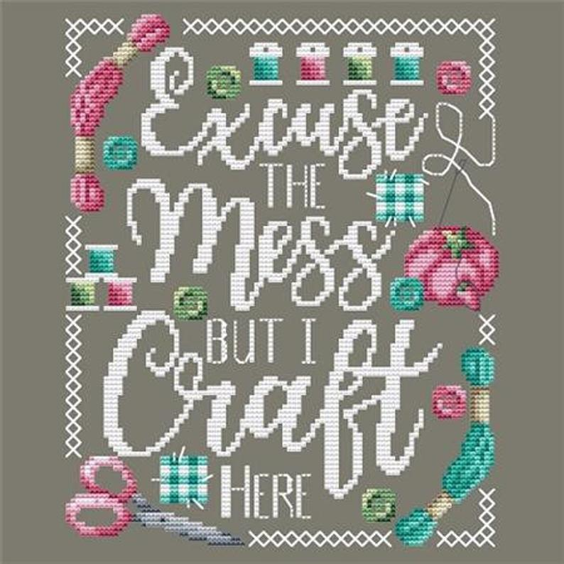 Shannon Christine CRAFT ROOM Cross Stitch Pattern