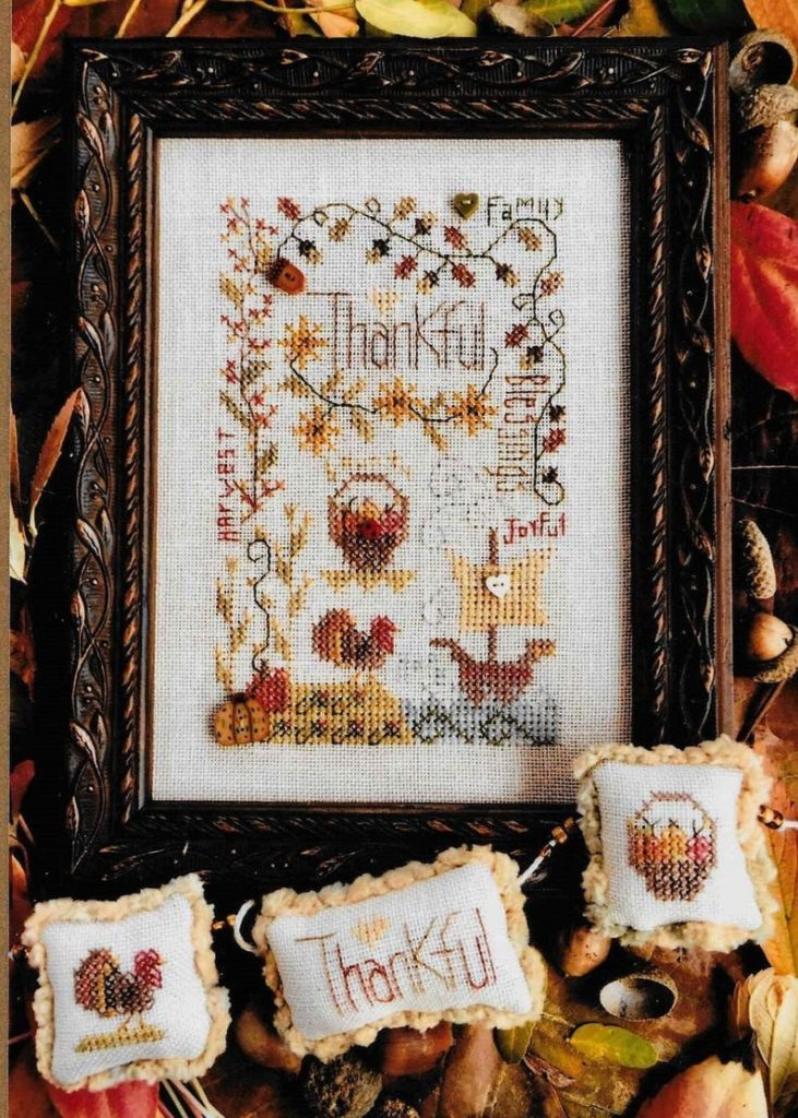 Shepherd's Bush AUTUMN NOTES Cross Stitch Pattern