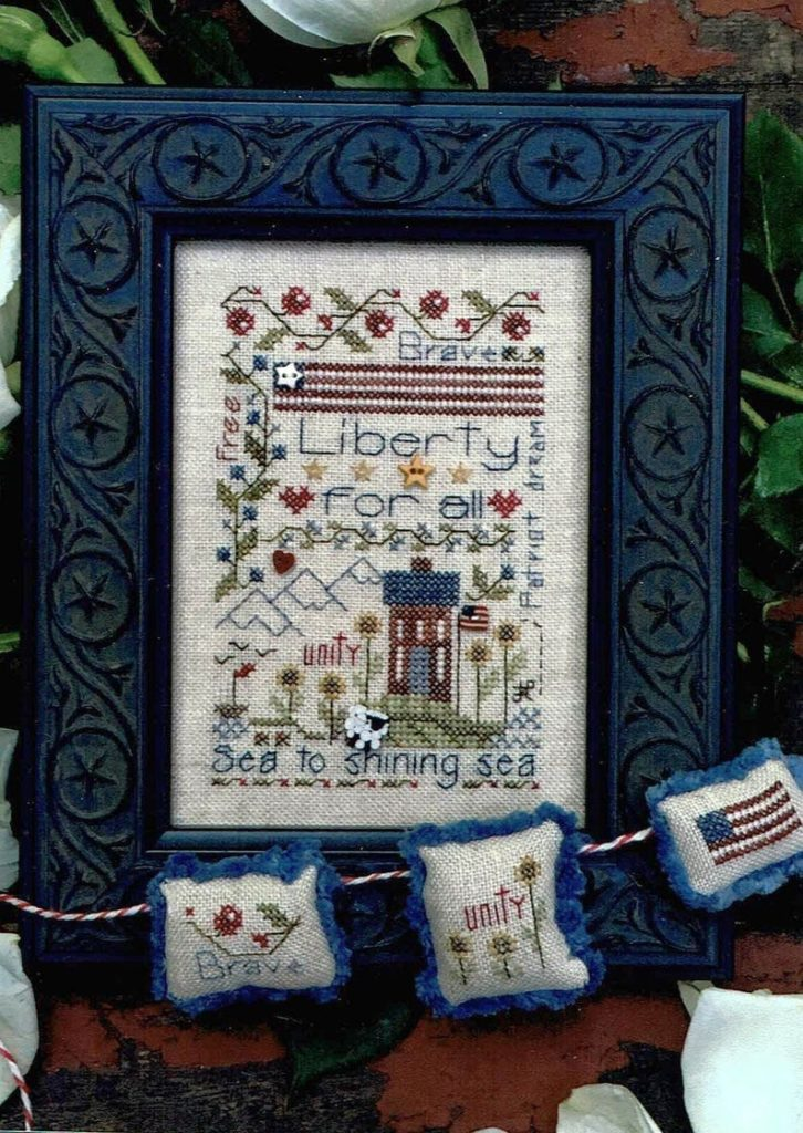 Shepherd's Bush LIBERTY NOTES Cross Stitch Pattern