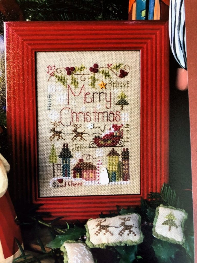 Shepherd's Bush MERRY NOTES Cross Stitch Pattern