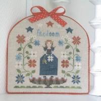 Tralala FREEDOM Cross Stitch Pattern – Patriotic Cross Stitch Pattern