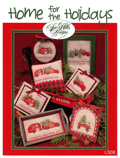 Home for the Holidays Cross Stitch Pattern by Sue Hillis