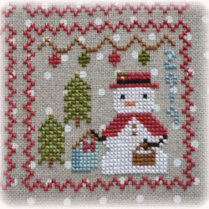 Snowy 9 Cross Stitch Pattern Annie Beez Folk Art