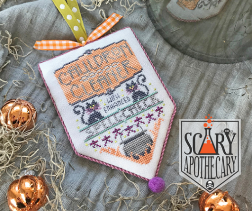 Hands on Design Scary Apothecary CAULDRON CLEANER #4