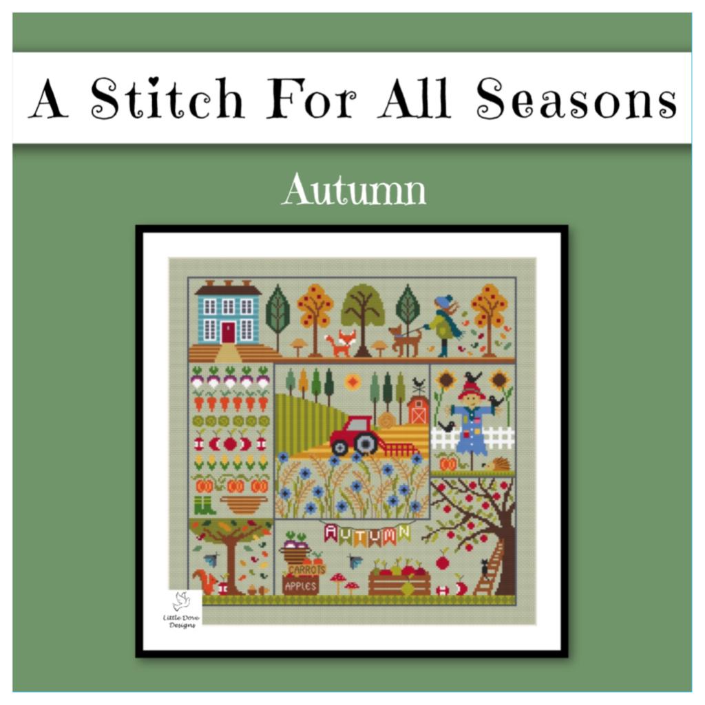 Little Dove Designs Autumn Cross Stitch Pattern