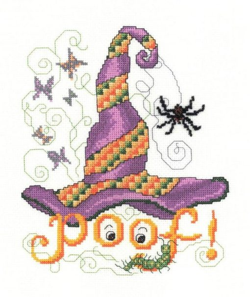 POOF HAT Cross Stitch Pattern by Imaginating