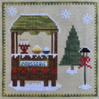 Pickle Barrel CHRISTKINDLMARKT PATISSERIE SHOP Cross Stitch Pattern Part 4