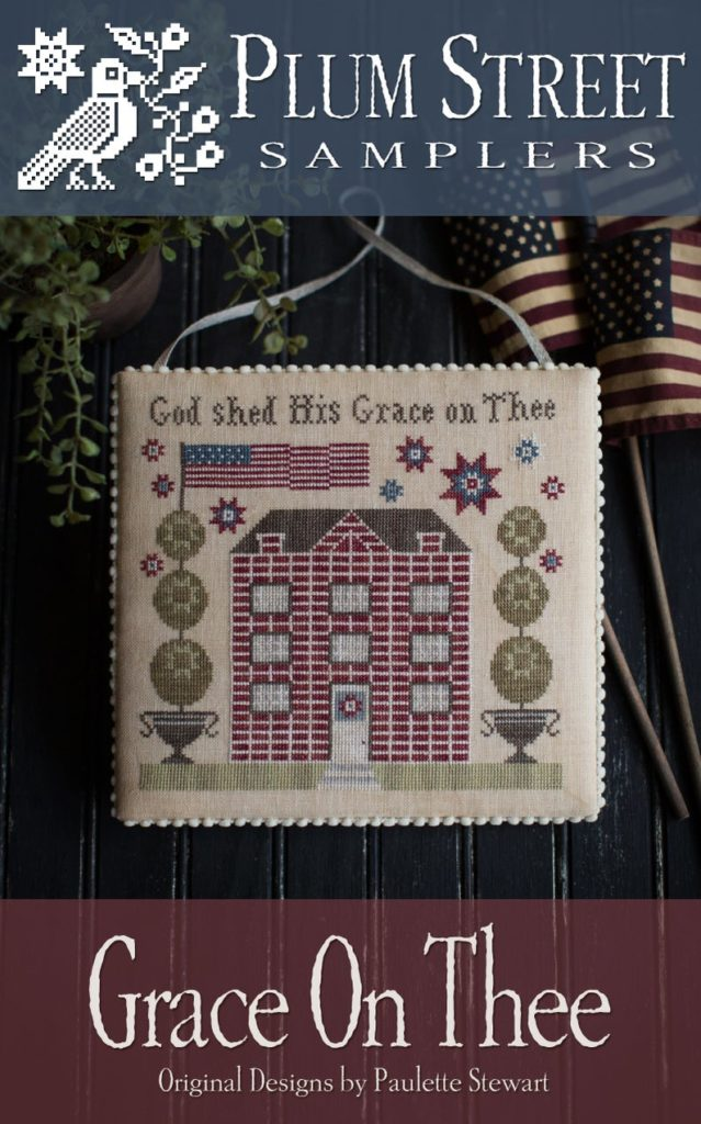 Plum Street Samplers GRACE on THEE Cross Stitch Pattern