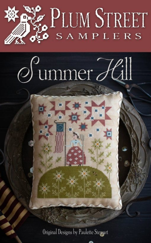 Plum Street Samplers SUMMER HILL Cross Stitch Pattern