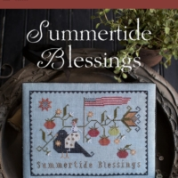 Plum Street Samplers SUMMERTIDE BLESSINGS Cross Stitch Pattern