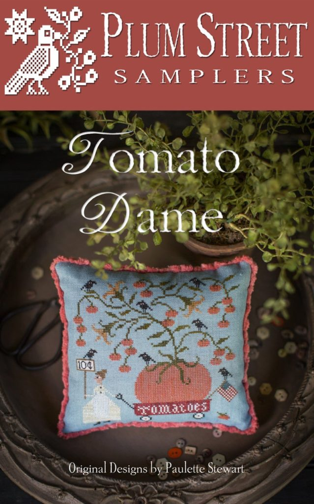Plum Street Samplers TOMATO DAME Cross Stitch Pattern