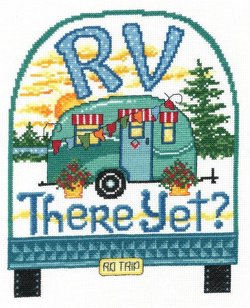 RV THERE YET Cross Stitch Pattern by Imaginating