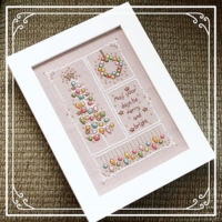 Shannon Christine VINTAGE MERRY & BRIGHT Cross Stitch Pattern