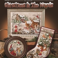 Stoney Creek CHRISTMAS IN The WOODS Cross Stitch Pattern
