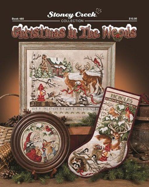 Stoney Creek CHRISTMAS IN The WOODS Cross Stitch Pattern