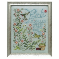 Stoney Creek MIRACLES HAPPEN Cross Stitch Pattern